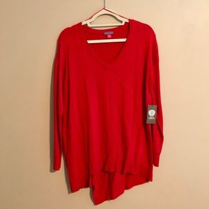 Vince Camuto Lightweight Sweater - NWT - Red - M
